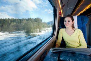 Преимущества поездок на поезде